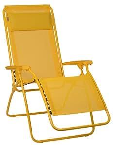 Lafuma r clip colorblock batyline jaune - Chaise pliante lafuma ...