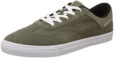 United Colors of Benetton Men's Brown903 Sneakers - 8 UK/India (42 EU)