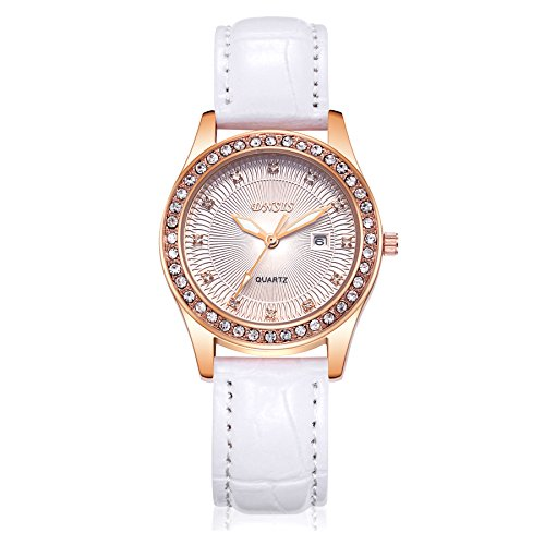 sevenandeight-womens-classic-rose-gold-tone-crystal-leather-watchluminous-design-quartz-watchfashion