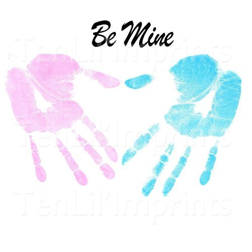 OC Trading Daddy & Me Inkless Handprint and Footprint Kit