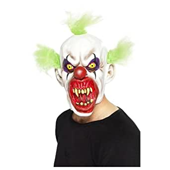 Smiffys Men's Sinister Clown Mask