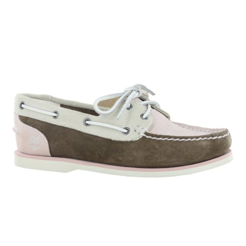 Timberland EK 3942R Classic Suede Brown Women Boat Shoes