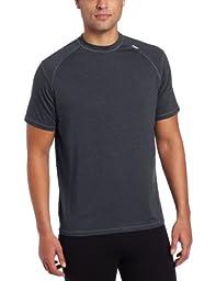 Tasc Performance Men's Carrollton Performance Running Fitness Crew Neck Tee Shirt,Medium,Gunmetal