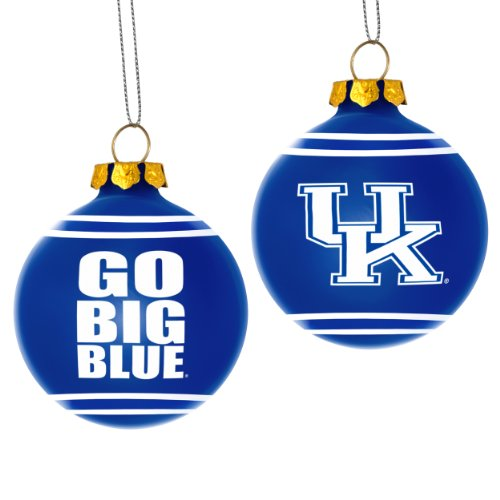 Kentucky Wildcats Slogan Glass Ball Christmas Ornament at Amazon.com