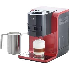 petra km macchina da caff sistema cialde con schiumalatte macchine da caff americano. Black Bedroom Furniture Sets. Home Design Ideas