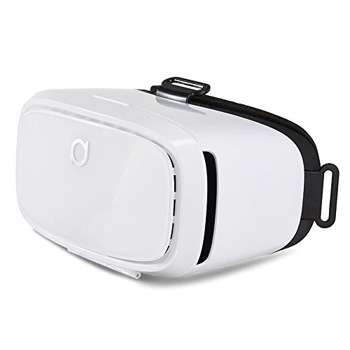 MOSTOP® VR PARK-II 3d Glasses for 3d Video Games Headset for 4-6 Inch Smartphone (VR 3D Glasses)