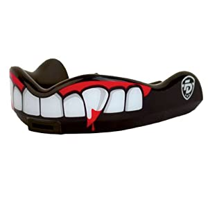 Buy Fight Dentist Junior Pro Mouth Guard with Convertible Strap, Blood Thirsty by Fight Dentist