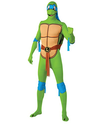 Rubie's Costume Men's Leonardo 2Nd Skin Adult Costume with Removable Shell