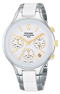 Pulsar Uhren Women's Quartz Watch Modern PT3267X1 with Metal Strap