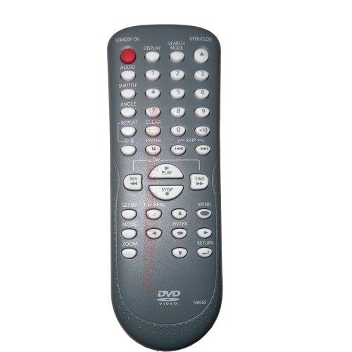Magnavox MWD200F Symphonic RSMWD200F DVD Player Remote Control NB062UD