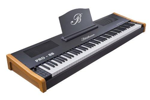 Blüthner PRO-88 e-Klavier Kirschbaum Stagepiano (Polyphonie: 144 Stimmen, 88 Tastenanzahl, MIDI, USB)