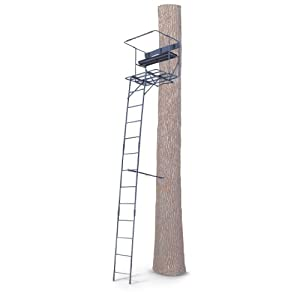 Buy Guide Gear 17 1 2' Deluxe 2 - man Ladder Tree Stand by Guide Gear