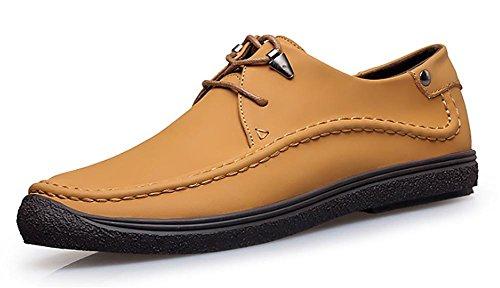 SONGYUNYAN Outdoor Leisure Business-barca-uomo scarpa In mocassini in camoscio , yellow , 45