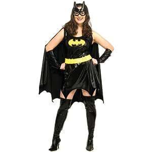 Fancy Dress Adult Costume - Batgirl - Plus Size - 16 / 22