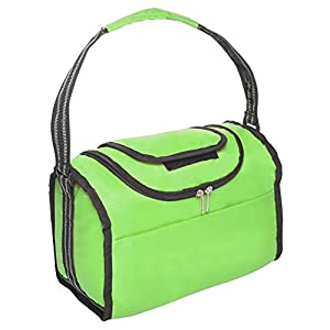 Flip Flap Insulated Lunch Bag (Green) by BAGS FOR LESSTM