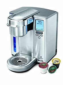 Breville Gourmet Single Serve Brewer for Keurig K-cups BKC700XL