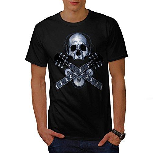 dj-skeleton-guitar-headphones-men-new-black-xl-t-shirt-wellcoda