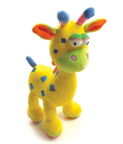 Baby Early Development Rattle Toys Multifunctional Plush Giraffe Bed Hang Ring Bell front-525974