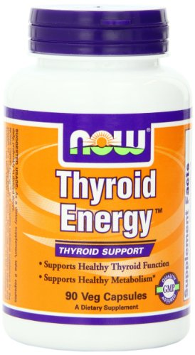 NOW Foods Thyroid Energy, 90 Vcaps