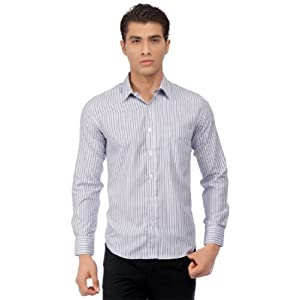 Mark Taylor Shirts Blue|37