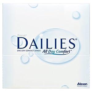 Focus Dailies All Day Comfort Tageslinsen weich, 90 Stück / BC 8.6 mm / DIA 13.8 / -2,00 Dioptrien