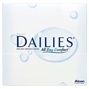Focus Dailies All Day Comfort Tageslinsen weich, 90 Stück / BC 8.6 mm / DIA 13.8 / -4,25 Dioptrien