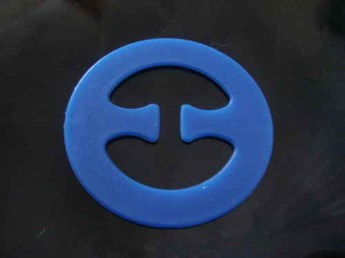 Bra Clip - Cleavage Enhancer & Racer Back Strap Creator - Blue