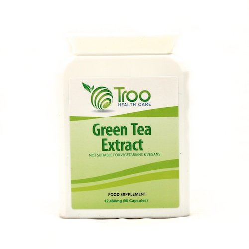 Green Tea Extract 12,480mg 90 Capsules - Strongest Green Tea Supplement on Market