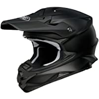 Shoei Solid VFX-W Off-Road/Dirt Bike Motorcycle Helmet - Matte Black / Large from Shoei