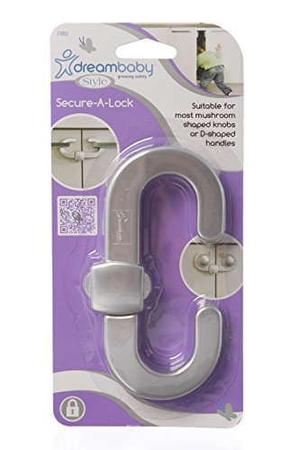 Dreambaby Secure-A-Lock Single Pack- Silver