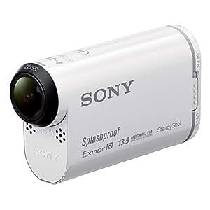 Sony HDR-AS100VR Action cam Sony AS100V GPS intégré livrée avec montre de pilotage Full HD 50p Wifi/NFC Blanc
