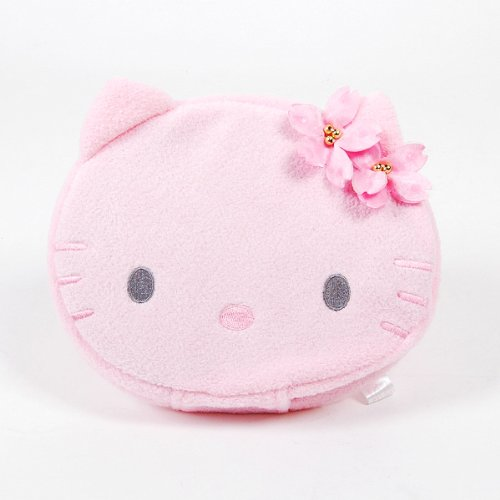 Hello Kitty CD DVD Storage Bag Plush 20pcs Pink