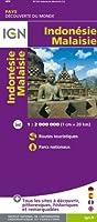 85129 INDONESIE/MALAISIE  1/2M