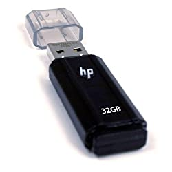 HP v125w 32 GB USB 2.0 Flash Drive P-FD32GHP125-EF