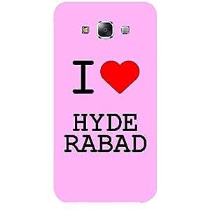 Skin4gadgets I love Hyderabad Colour - Light Pink Phone Skin for SAMSUNG GALAXY E7 (E7000)