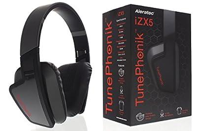 Aleratec TunePhonik iZX5 On-Ear Headphones with In-line Microphone