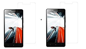Stadum Tempered Glass for Lenovo A6000(Pack of 2)