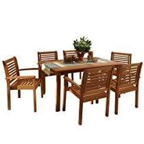 Hot Sale Amazonia Milano 7-Piece Rectangular Set