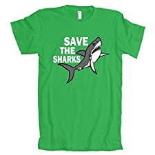 Save The Sharks American Apparel T-Shirt