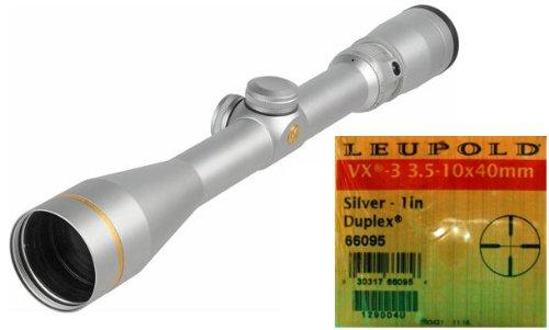 Leupold Vx-3 3.5-10X40Mm Duplex, Silver