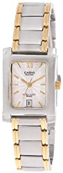 Casio Enticer Analog White Dial Womens Watch - BEL-100SG-7AVDF (SH46)
