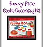 Funny Face Cookie Paint Kit - Fun Gift!!