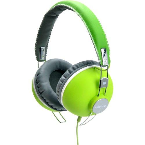 フックアップ iDance HIPSTER GREENの写真01。おしゃれなヘッドホンをおすすめ-HEADMAN(ヘッドマン)-