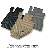 Mercedes Benz C-Class Black All Weather Rubber Floor Mat Sets from Mercedes-Benz