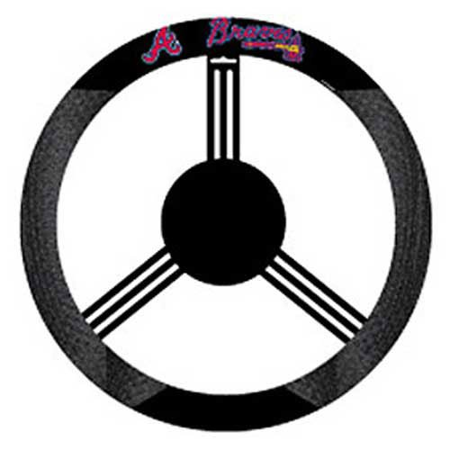 USA Wholesaler - CSY-2324568515 - Atlanta Braves MLB Mesh Steering Wheel Cover at Amazon.com