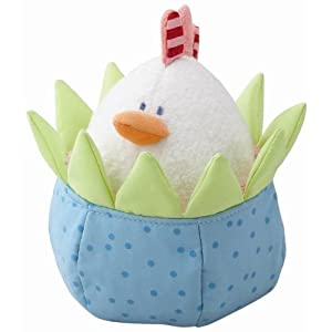 Haba Cozy Chicken Clutching Toy