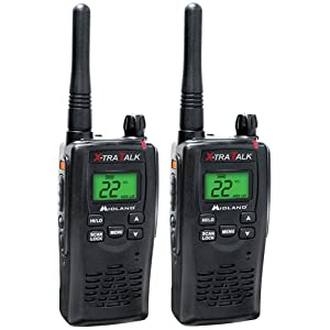 Midland GXT5000 36-Mile 22-Channel FRS GMRS Two-Way Radio (Single) (Black) by Midland