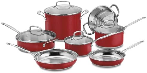 Cuisinart CSS-11MR 11-Pc. Classic Cookware Set