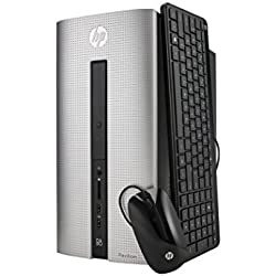 HP Pavilion Desktop with AMD Quad Core A8-6410 / 8GB / 1TB/ Win 10 Pro - Refurbished