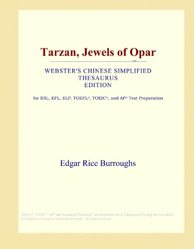 tarzan-jewels-of-opar-websters-chinese-simplified-thesaurus-edition